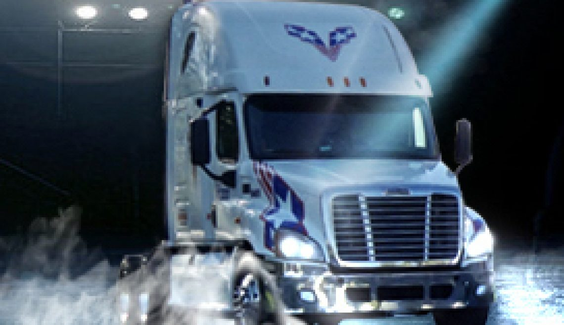 Veteran Carriers Truck Image For Services Page Savannah GA Location Trucking Service Logistics Fast Delivery